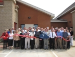 Ribbon cutting at new Station 2