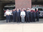 Southaven Mayor, Fire Chiefs, and Fire Department personnel