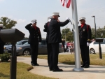 Presentation of colors at new Station 2