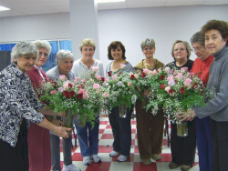 Ladies in the Floral Class